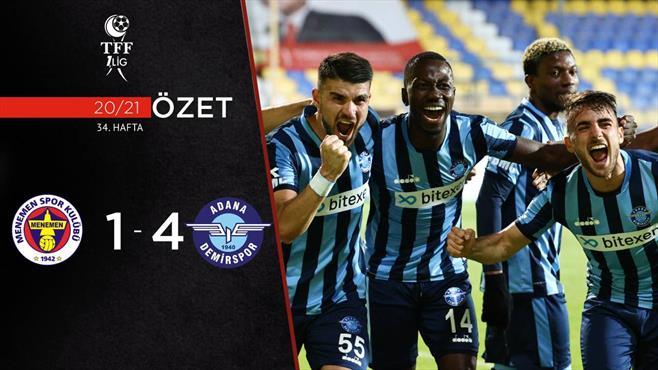 ÖZET | Menemenspor 1-4 Adana Demirspor