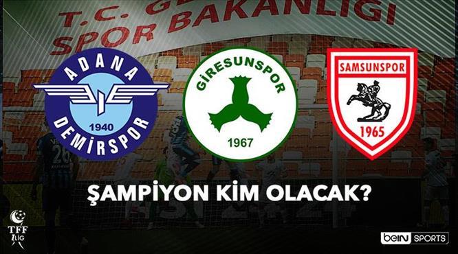 Süper Lig'e yükselecek takımlar belli oluyor!