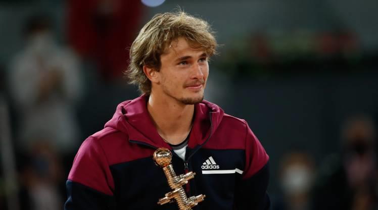 Madrid Açık'ta şampiyon Zverev