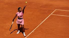 Serena Williams, Roma Açık'a erken veda etti