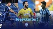 Adana Demirspor'dan üç futbolcuya teşekkür