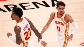Hawks ve Knicks play-off'a yükselmeyi garantiledi