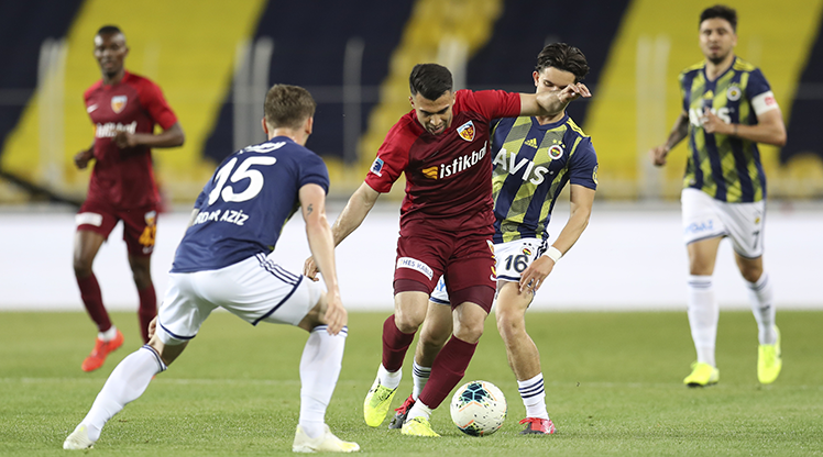 Fenerbahçe ile Kayserispor 50. randevuda