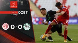 ÖZET | FTA Antalyaspor 0-0 İH Konyaspor