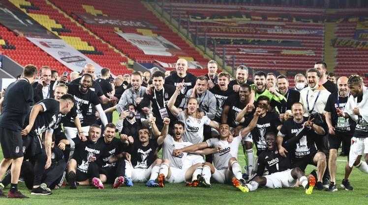 TFF, şampiyon Beşiktaş'ı kutladı