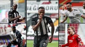 Beşiktaş'ta 5 futbolcudan büyük katkı