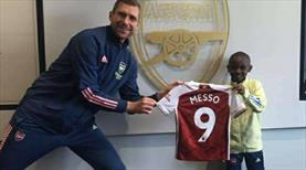 Leo Messo, Arsenal'de!