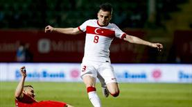 5 futbolcu ilk kez A Milli oldu