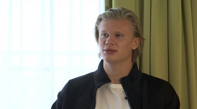 Erling Haaland dev finali beIN SPORTS'a değerlendirdi