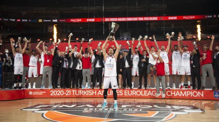 ÖZET | EuroLeague şampiyonu Anadolu Efes!