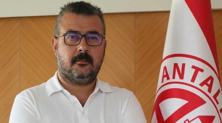Antalyaspor'da başkanlığa Aziz Çetin seçildi