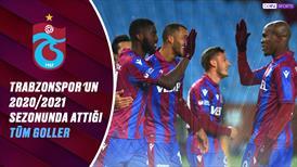 İZLE | Trabzonspor'un bu sezon attığı tüm goller