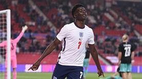 İngiltere, Bukayo Saka ile kazandı