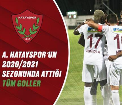 İZLE   A. Hatayspor'un birbirinden güzel golleri