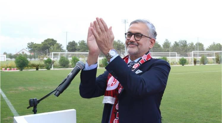 Antalyaspor Kulübü Derneği'nde başkanlık görevine Hesapçıoğlu seçildi