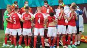 Alkışlar Danimarkalı futbolculara