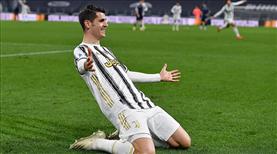 Morata, Juventus'ta kaldı