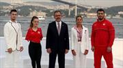 Bakan Kasapoğlu, Olimpiyat koleksiyonunu tanıttı