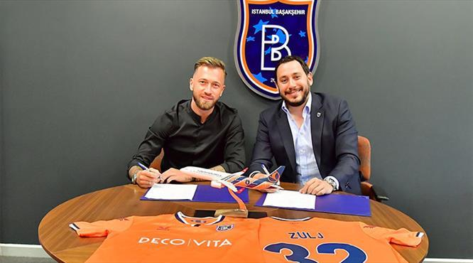 Başakşehir, Zulj ile 3 yıllık sözleşme imzaladı