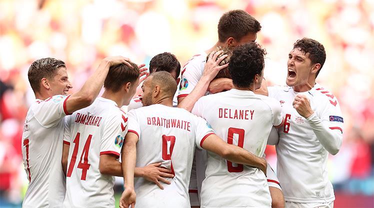 İlk çeyrek finalist Danimarka: 0-4