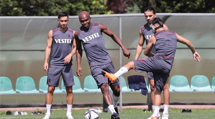 Trabzonspor 5 eksikle çalıştı