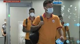 Galatasaray kafilesi İstanbul'a geri döndü