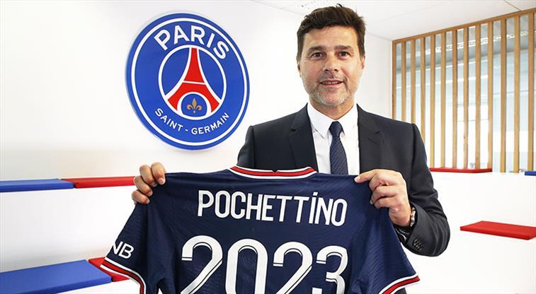 PSG, Pochettino'nun sözleşmesini uzattı