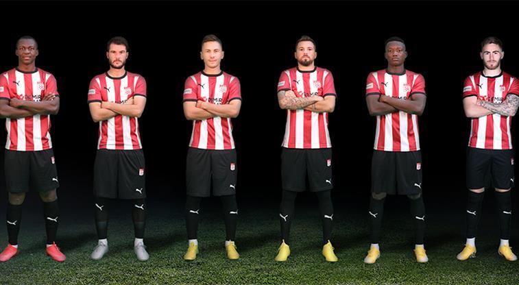 Sivasspor'dan 6 oyuncuya teşekkür