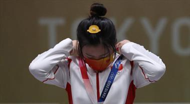 Tokyo'da ilk altın madalya Qian Yang'ın