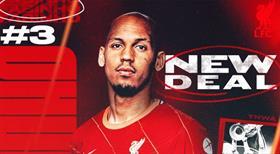 Liverpool'dan Fabinho'ya yeni sözleşme