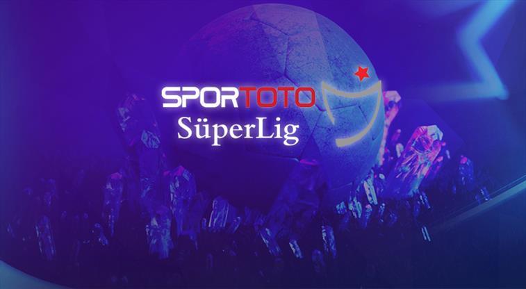 İşte Spor Toto Süper Lig'deki son puan durumu