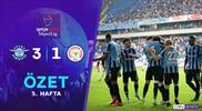 ÖZET   A. Demirspor 3-1 Çaykur Rizespor