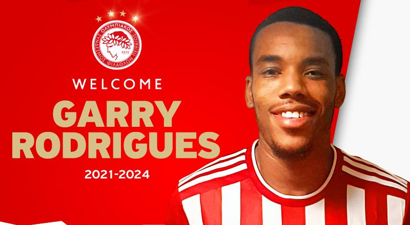 Olympiakos, Garry Rodrigues'i duyurdu