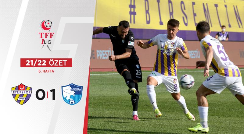 ÖZET | Eyüpspor 0-1 BB Erzurumspor