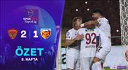 ÖZET | A. Hatayspor 2-1 Y. Kayserispor