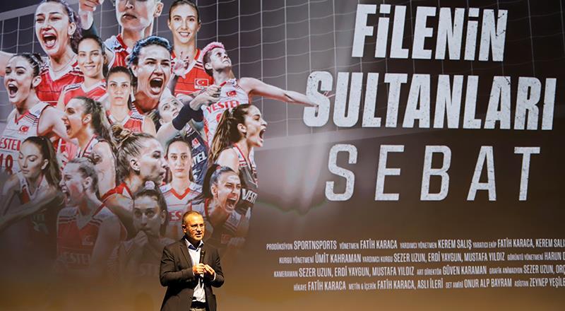 """""""Filenin Sultanlar: Sebat"""" belgeselinin galası yapıldı"""