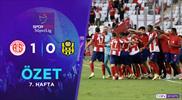 ÖZET | FTA Antalyaspor 1-0 ÖK Yeni Malatyaspor