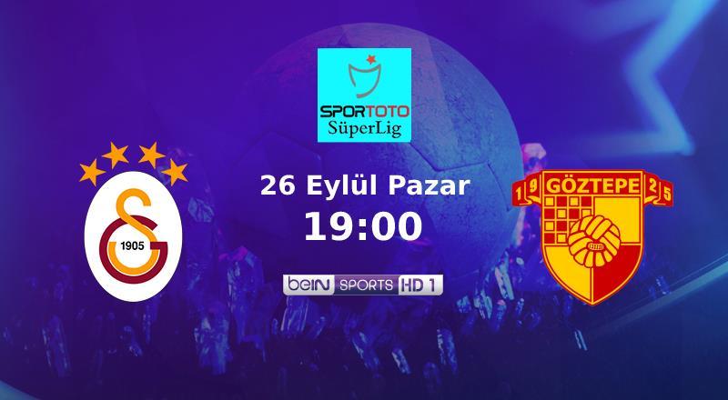 Muhtemel 11'ler   Galatasaray - Göztepe