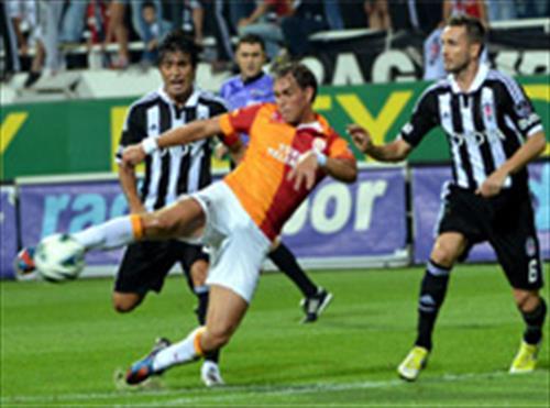 Beşiktaş-Galatasaray: 3-3