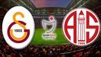 Dünden bugüne: Galatasaray - Antalyaspor