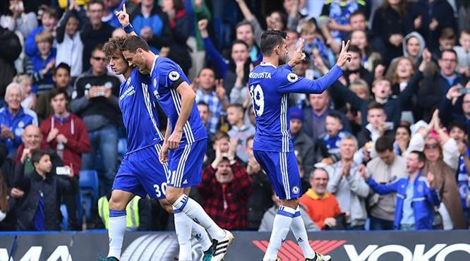 Chelsea son şampiyonu dağıttı