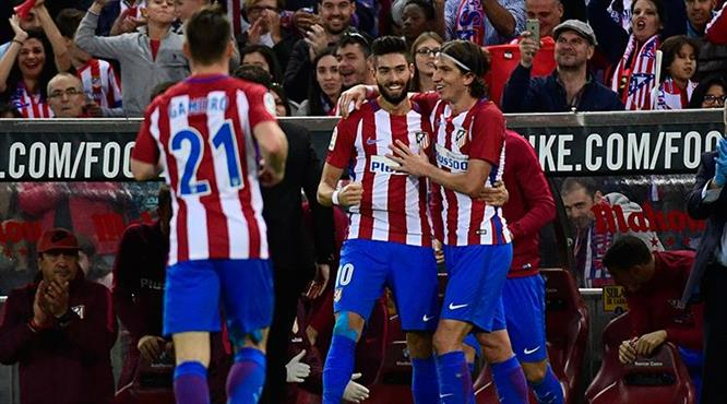 Atletico Granada'yı gole boğdu