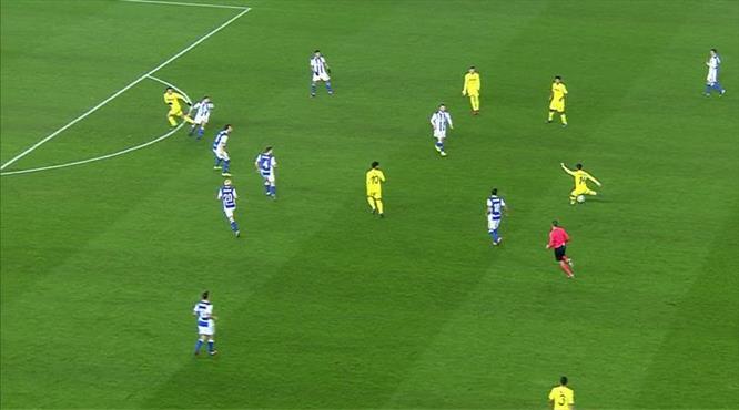 Orta sahadan harika bir gol