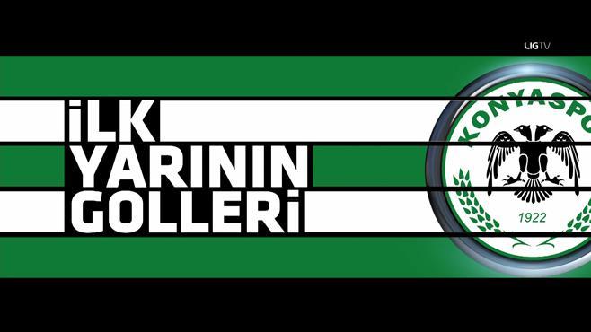 Konyaspor'un ilk yarı goller: 11-16. hafta
