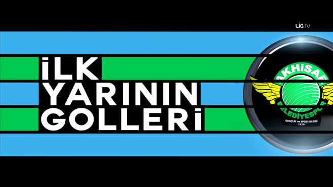 Akhisar Belediyespor'un ilk yarı golleri! 9-16. hafta