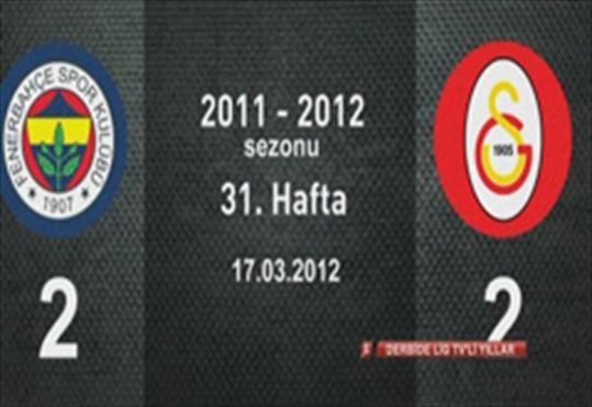 Fenerbahçe-Galatasaray: 2-2