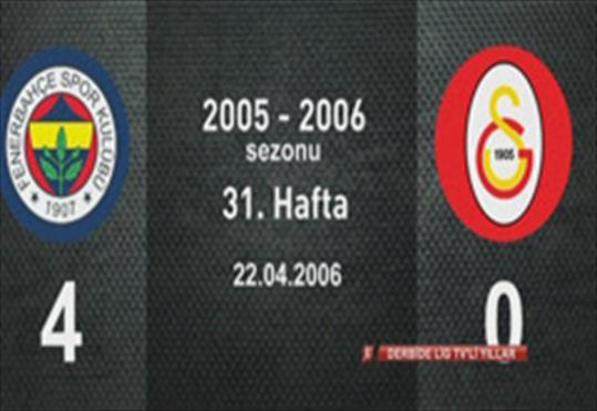 Fenerbahçe-Galatasaray: 4-0