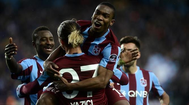 Trabzon-Antep: 4-0