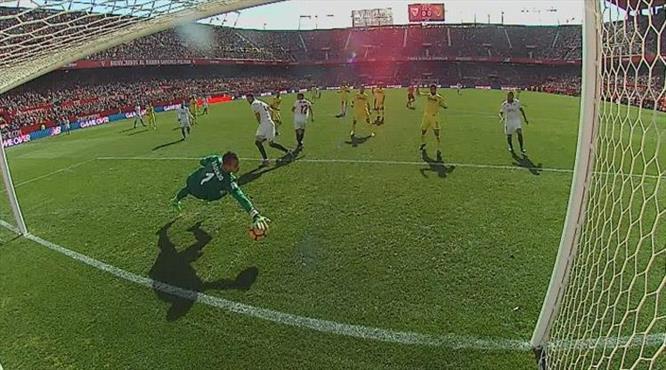 Sevilla ne yaptıysa olmadı