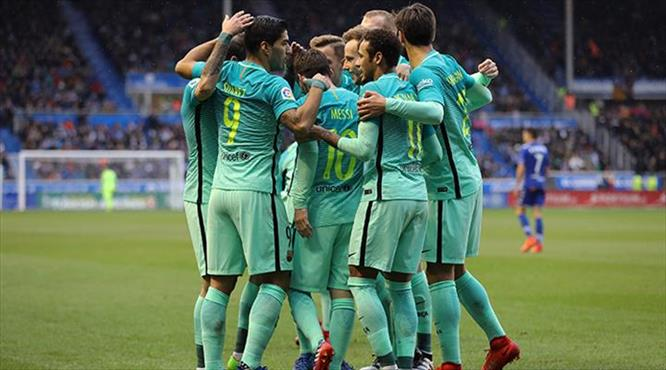 Final provasında Barça şov